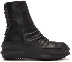 D.Gnak by Kang.D Black Back Lace High-Top Sneakers