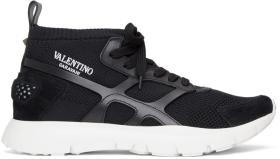Valentino Black Valentino Garavani Sound High-Top