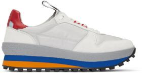 Givenchy Grey Calfskin TR3 Runner Sneakers