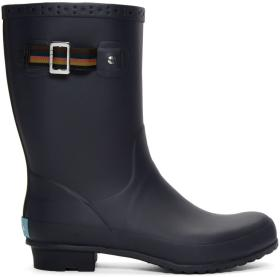 Paul Smith Navy Rubber Krupa Boots