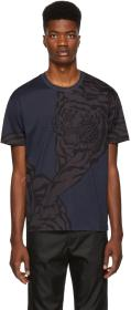 Valentino Navy Tiger T-Shirt