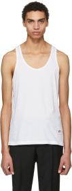Givenchy White Cat Tank Top