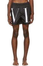 Valentino Black 'VLTN' Swim Shorts