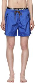 Boss Blue & Orange Thornfish Swim Shorts