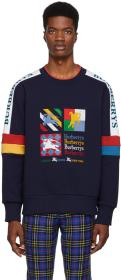 Burberry Multicolor Embroidered Archive Logo Sweat