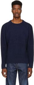 Levi's Made & Crafted Navy Fisherman Sweater