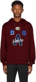 Dolce & Gabbana Red 'A' Amore Hoodie
