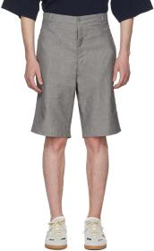 House of the Very Islands Grey Classic Cut Shorts