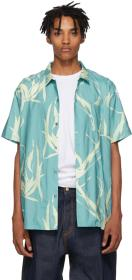 Double Rainbouu Blue Sound Garden Hawaiian Shirt