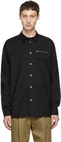 Stephan Schneider Black Wool Shirt