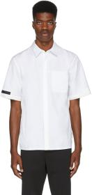 Helmut Lang White On Seam Stitched Pocket Shirt