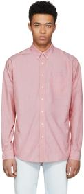 Schnayderman's Red Poplin Leisure One Shirt