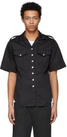Marques Almeida Black Safari Shirt