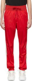 Dolce & Gabbana Red Crown Lounge Pants