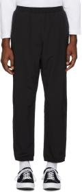 paa Black Thermal Windbreaker Lounge Pants