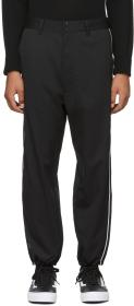 Diesel Black P-Empire-A Side Trousers