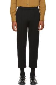 Prada Black Drawstring Lounge Pants