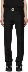 Givenchy Black Belt Trousers