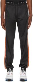 Givenchy Black Velvet Stripe Lounge Pants