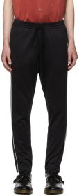 Valentino Black Piped Lounge Pants