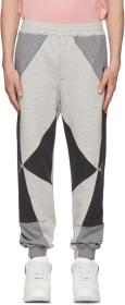 Alexander McQueen Grey Loopback Jogger Lounge Pant