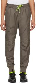 Versus Green Stripe Cargo Pants