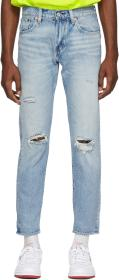 Levi's Blue Hi-Ball Roll Jeans
