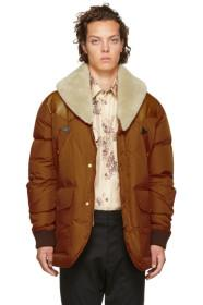 Dsquared2 Brown Down Puffer Jacket
