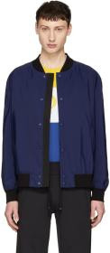 Hugo Navy Boris 1831 Bomber Jacket