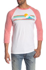 C & C California Pipeline Raglan Baseball Tee