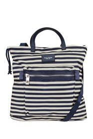 Nautica Front Logo Patch Tote Bag