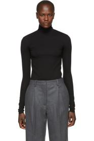 Acne Studios Black Turtleneck Bodysuit