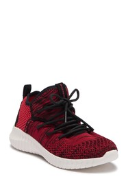 Skechers Elite Flex Contrast Knit Sneaker (Little