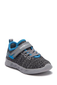 Skechers Comfy Flex Knit Sneaker (Toddler & Little