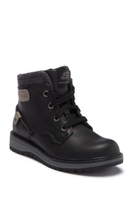 Skechers Gravelen Lace-Up Boot (Little Kid)