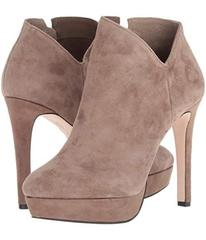 Jessica Simpson Slater Taupe Lux Kid Suede