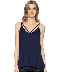 Stetson 1578 Rayon Knit V-Neck Strappy Tank Top