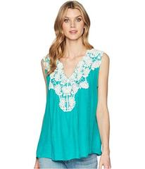 Wrangler Sleeveless Swing Applique Top