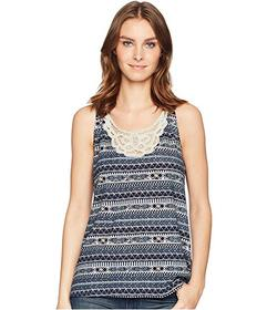 Woolrich Eco Rich Bell Canyon Printed Tank Top II