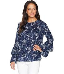 MICHAEL Michael Kors Scatter Blooms Tier Sleeve To