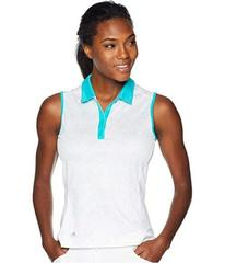 adidas Golf Printed Dot Merch Sleeveless Polo