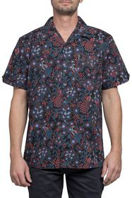 Ben Sherman Trim Fit Print Short Sleeve Sport Shir