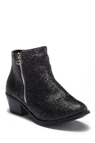 Nicole Miller Leah Crushed Glitter Boot (Toddler