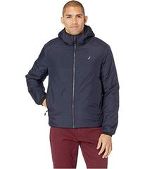 Nautica Trans-Weight Hooded Wind and Water Resista