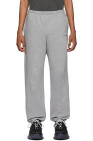 Balenciaga Grey Logo Lounge Pants