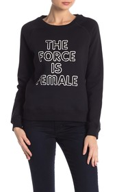 Rebecca Minkoff The Force Is Female Graphic Sweats