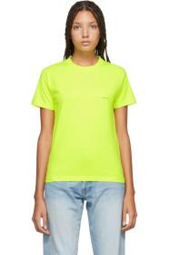 Balenciaga Yellow Mini Logo T-Shirt