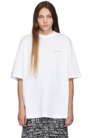Balenciaga White Mini Logo T-Shirt