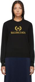Balenciaga Black BB Sweater