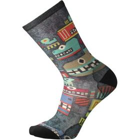 Smartwool Totem Monster Print Crew Sock - Men's